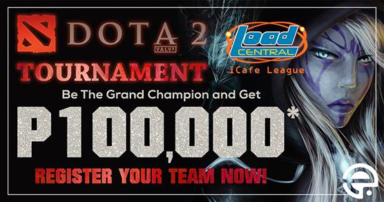 loadcentral i cafe league dota 2 tournament 2017
