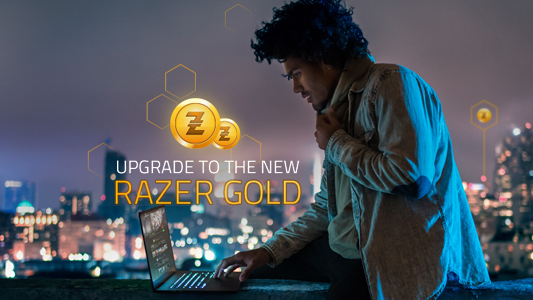 RAZER PIN · Razer zGold and zGold-MOLPoints joined forces