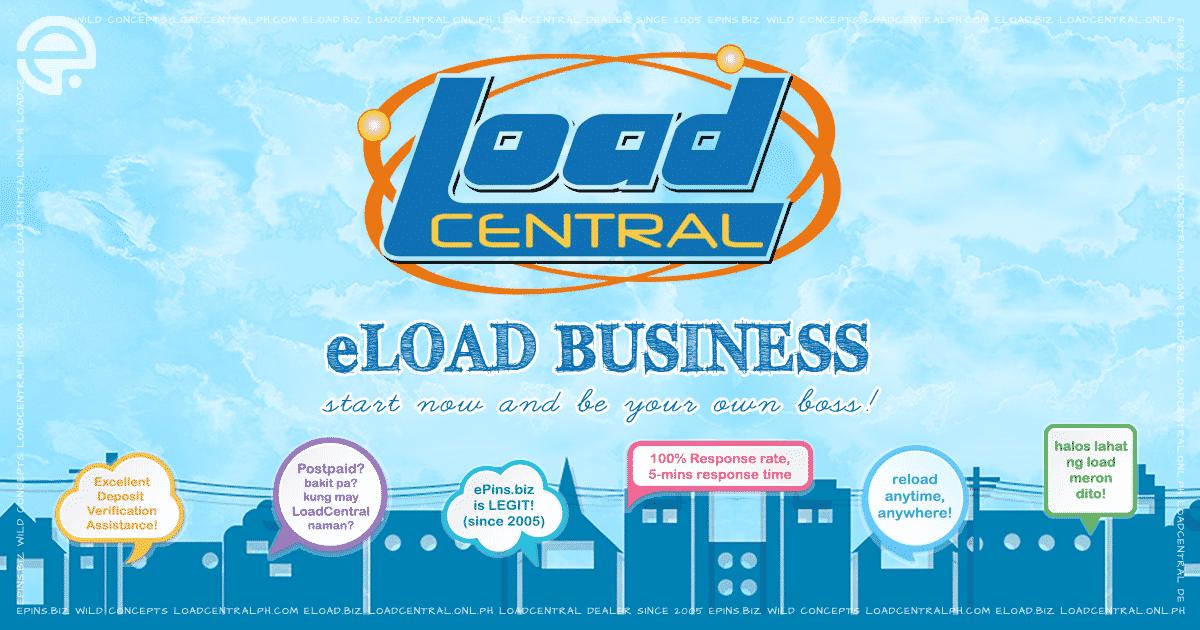 LoadCentral eLoad Business - FREE Retailer Sim Activation